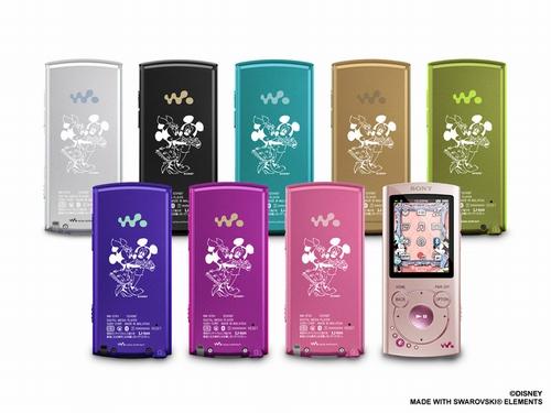 ウォークマン Sシリーズ ミッキー&ミニーのクリスマスボックス 2011